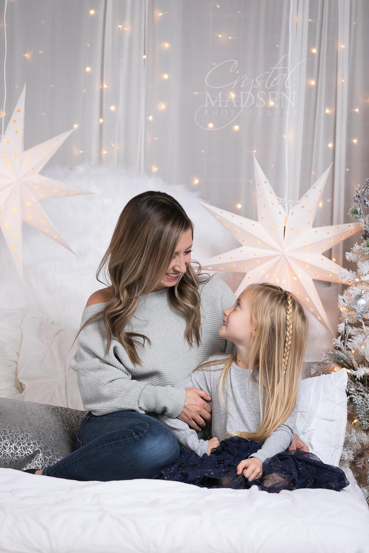 holiday photo shoots in spokane