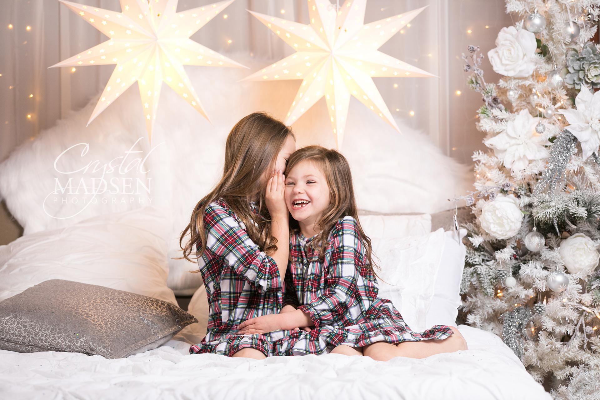 holiday photo shoot in spokane